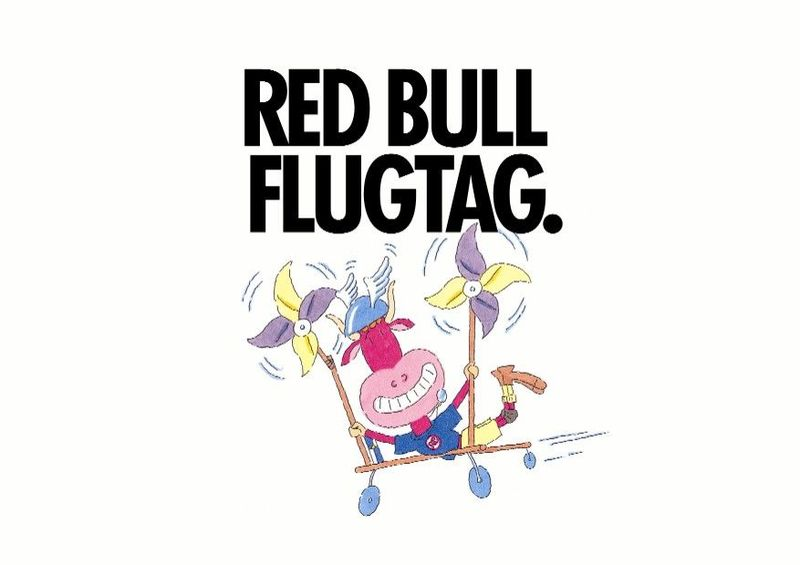red bull logo. The 2008 Red Bull Flugtag
